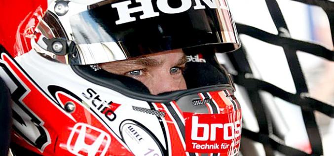 El piloto Tiago Monteiro, en el Autódromo del Algarve