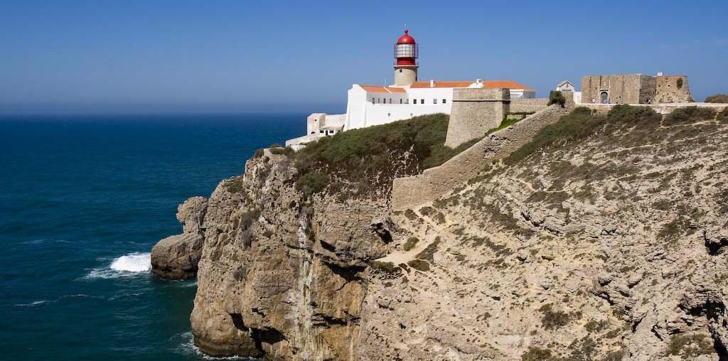 La fortaleza del cabo de san vicente algarve hoy - Cabo san vicente portugal ...