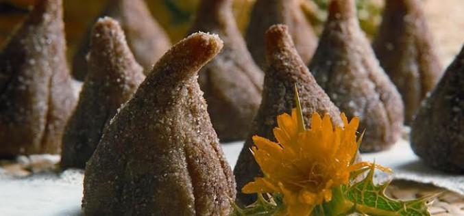 Receta de higos con almendra y chocolate