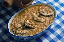 Receta de arroz con congrio