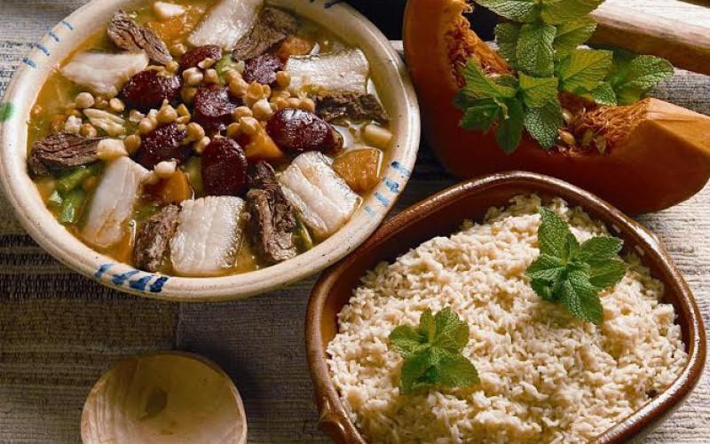 Receta de cocido de garbanzos algarve hoy - Preparacion de garbanzos cocidos ...