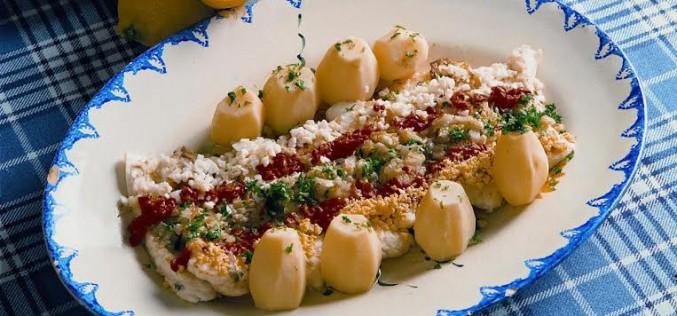 Receta de filetes de merluza al estilo de Monchique