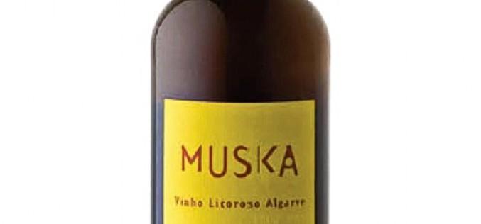 Muska, vino licoroso Algarve Seco