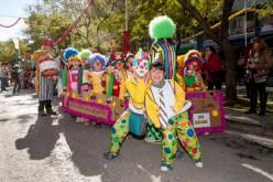 Más de 5.000 mini piratas asaltan Loulé en el Carnaval Infantil
