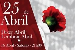 'Decir abril. Recuerda abril' evoca en Olhao la Revolución de los Claveles