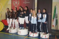 El equipo de Olhao logra títulos nacionales en el Campeonato de Esgrima