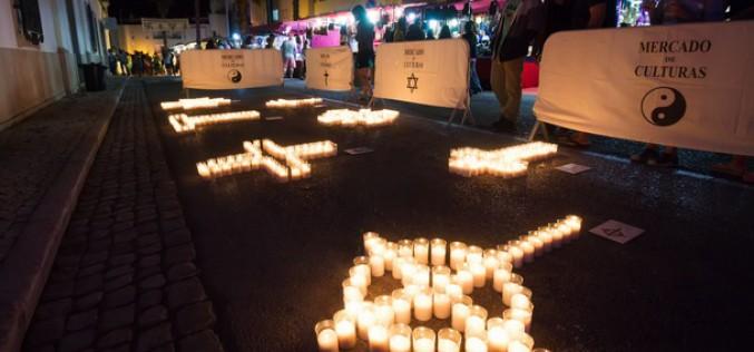 Lagoa revive su historia cultural a la luz de las velas