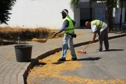 Castro Marim refuerza la limpieza de los espacios públicos