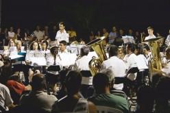 La Banda de la Sociedad Filarmónica de Silves, en Armaçao de Pêra