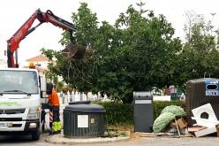 Castro Marim refuerza la recogida de basura en verano