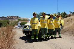 Equipo especial para prevenir incendios forestales en Castro Marim