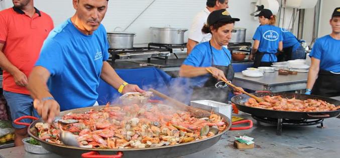 Olhao ultima los preparativos para su Festival del Marisco