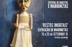 Patricia Chambino muestra sus marionetas en Faro