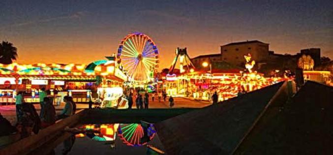 La Feria de Santa Iria llena Faro de diversión
