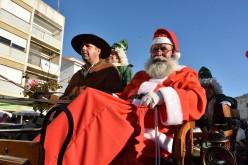 Papá Noel llega a Loulé