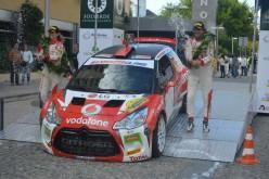 José Pedro Fontes logra la llave de oro en el Trofeo Ibérico de Rally