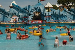 Una visita a Aquashow, por el Día de la Infancia