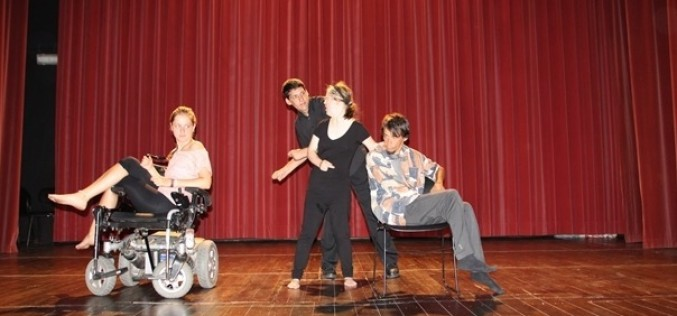 Sao Brás acoge un proyecto internacional de danza inclusiva