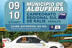 El Campeonato de Rally del Sur llega a Albufeira