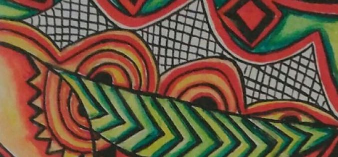 'De África a Europa', en la exposición de Leonor Brites