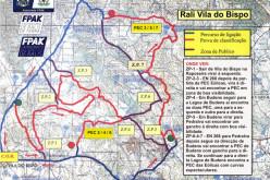 El Rally de Vila do Bispo se disputa el 14 y 15 de octubre
