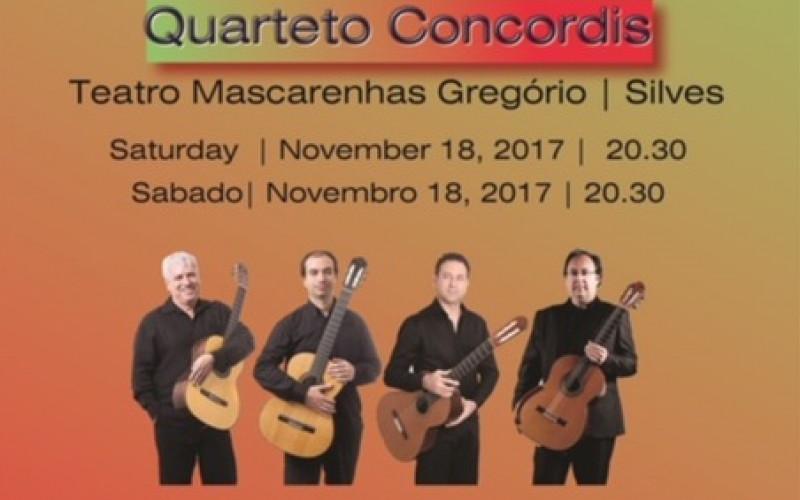 El cuarteto Concordis, en concierto en Silves