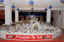 La sal, protagonista un año más en el Belén de Castro Marim