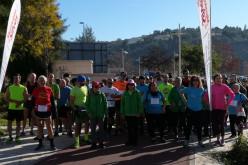 Unos 80 atletas participan en la 'Carrera 4 Estaciones' de Silves