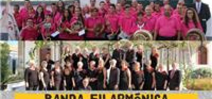 La Banda Filarmónica de Sao Brás y el Coro de Amigos del Museo, en el Concierto de Año Nuevo