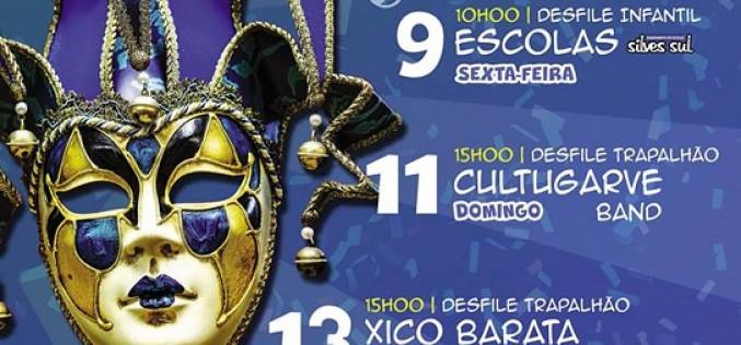 El Carnaval animará Armação de Pêra y SB Messines