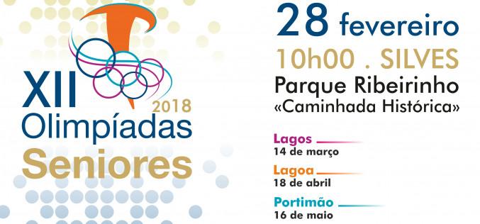 Las XII Olimpiadas Senior llegan a Silves