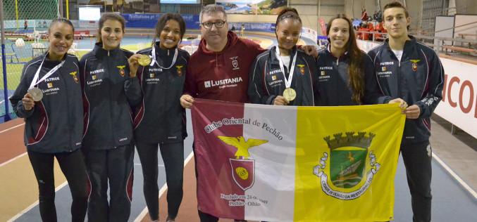 Atletas del Club Oriental de Pechão logran medallas de oro y plata