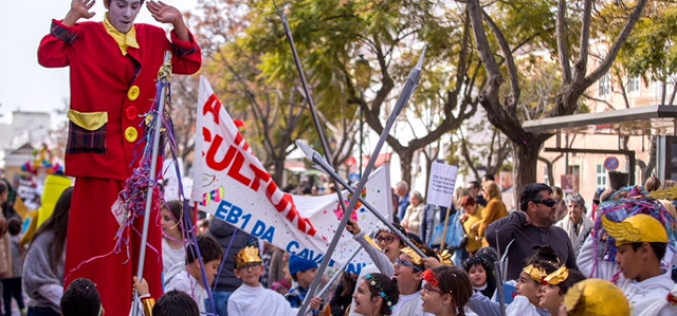 Un gran desfile infantil para celebrar el Día del Niño en Olhão
