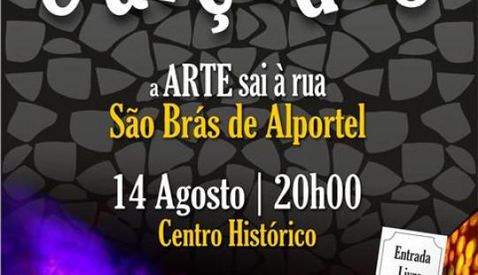 Sao Brás llena sus calles de arte