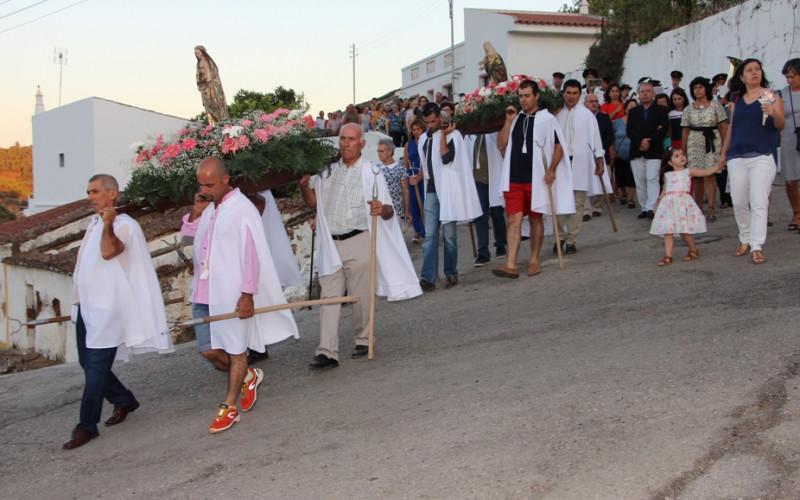 Fiestas de la Virgen de Visitación, en Odeleite