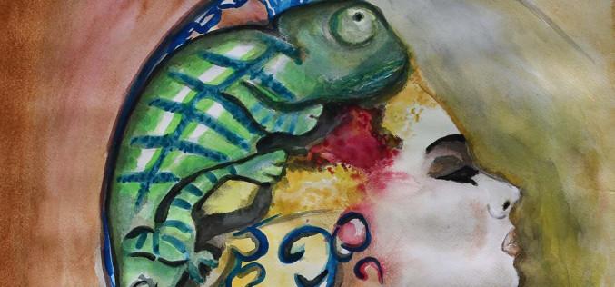 El camaleón, protagonista en una exposición en Olhao