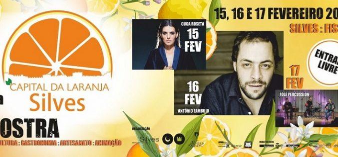 3ª Muestra Silves Capital de la naranja del 15 al 17 de febrero