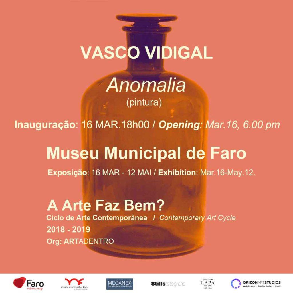 Se inaugura la exposición de pintura Anomalía en Faro