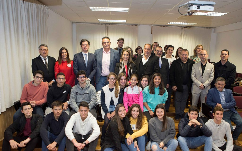 Lagoa refuerza apoyo a atletas estudiantes